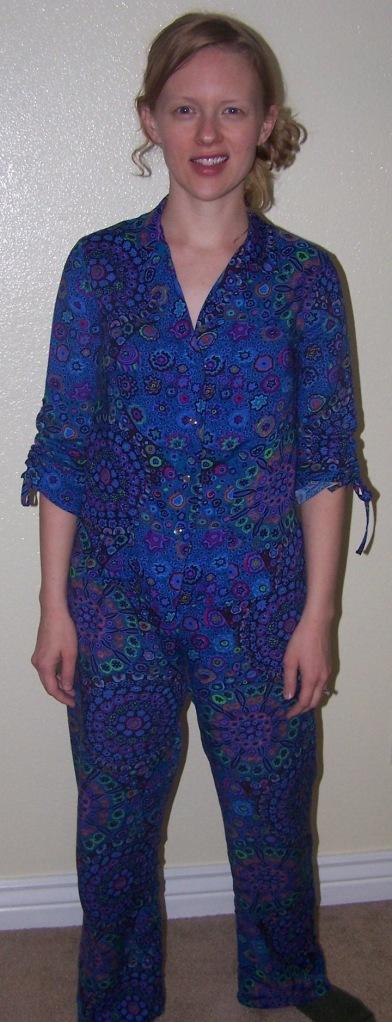 rayon challis pajamas