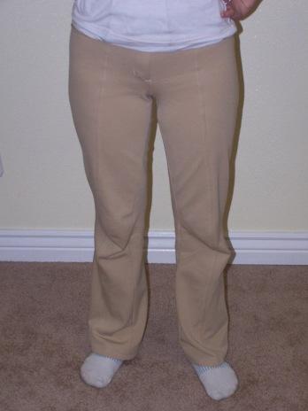camel ponte pants