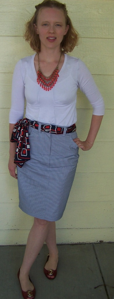 piped skirt
