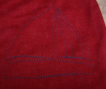 sailboatapplique