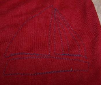 sailboatapplique