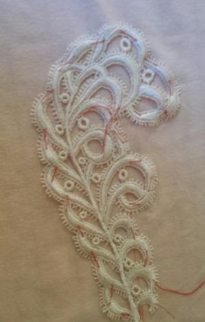 venise lace applique