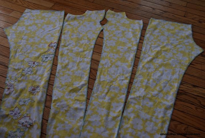 yellowfloraljeanscut