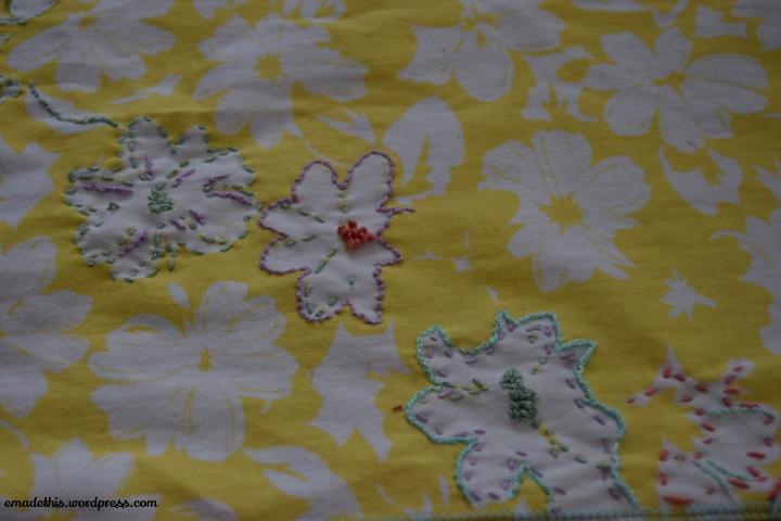 yellowfloraljeansembroiderydetail