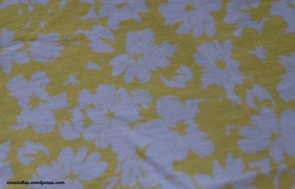 yellowfloraljeansfabric