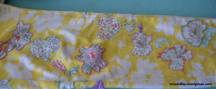 lemonfloralembroideryjeanslegclose